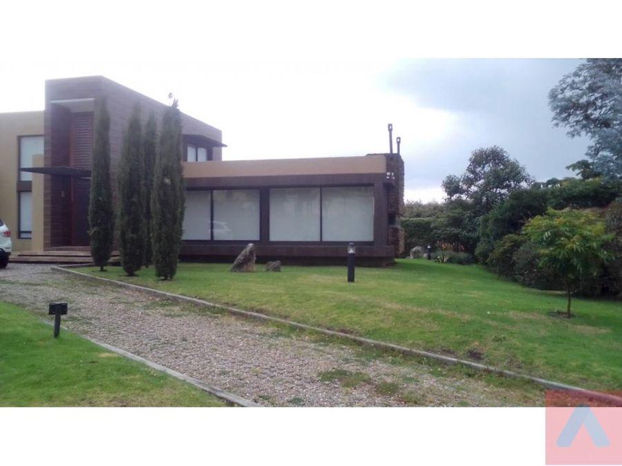 vendo hermosa casa conjunto cerrado via sopo la calera