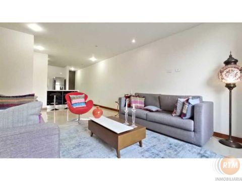 arriendo moderno apartamento en chico navarra 2 habitaciones rtm
