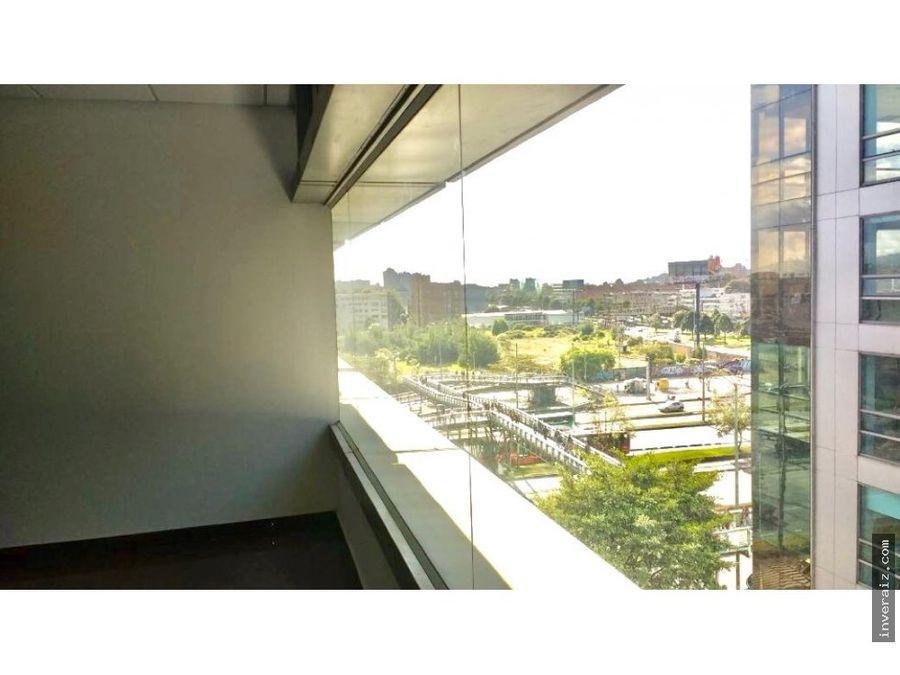 arriendo oficina 77 metros cerca trasmilenio ar