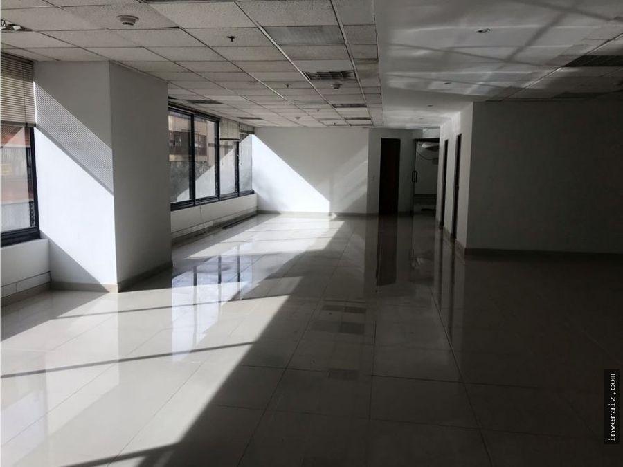 arriendo oficina de 235 metros calle 92 ar