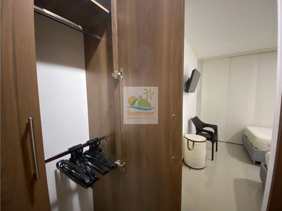 arriendo apartamento amoblado cerca al mar con wifi