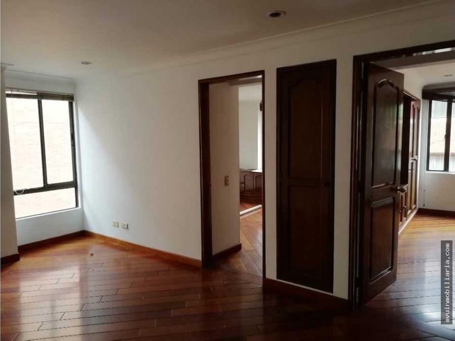 arriendo apartamento chico162m2
