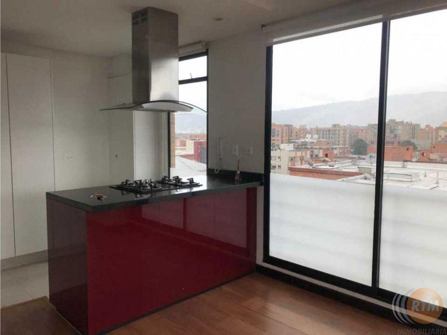 arriendo apartamento una habitacion cedritos duplex con terraza mu