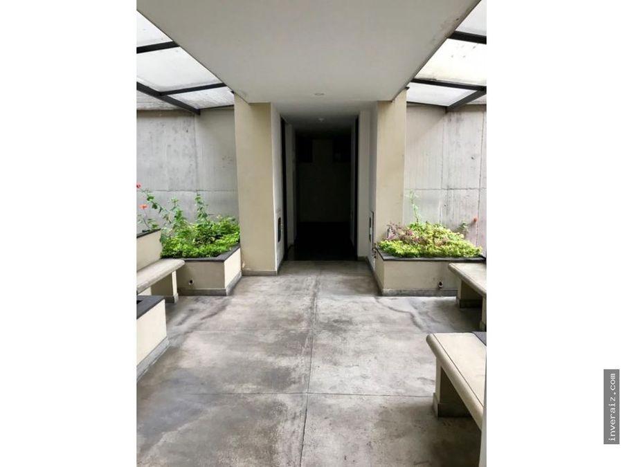 arriendo apartaestudio con terraza privada en chapinero alto ar