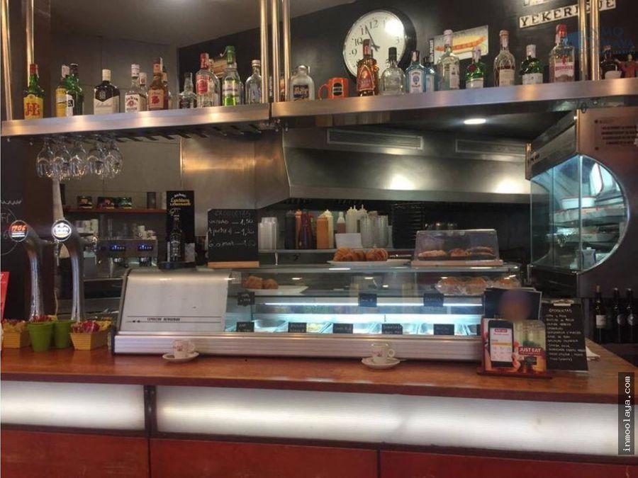 traspaso bar restaurante c3 en el guinardo