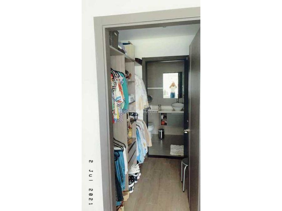 bello apartamento amueblado en santa ana exclusivo condominio