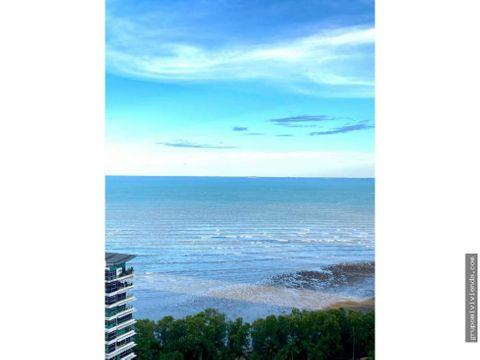 bello apartamento con espectacular vista al mar costa del este