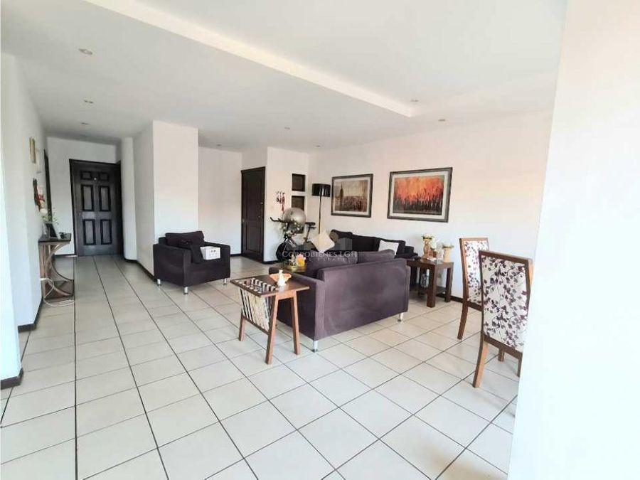 bello apartamento en venta en pozos de santa ana