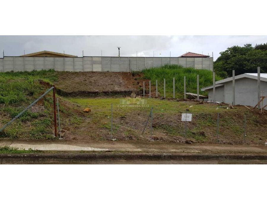 bellos terrenos en la guacima de alajuela listos para construir