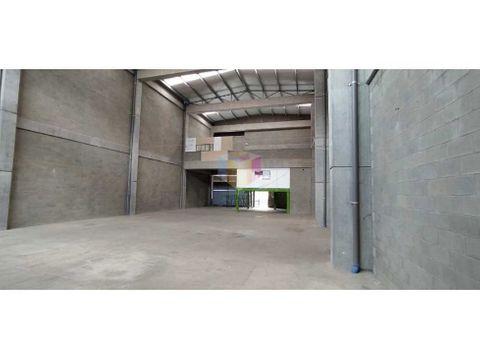 bodega arriendo venta copacabana 550 m2 parque ind