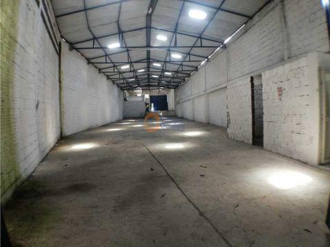 bodega en alquiler en zona industrial juanchito