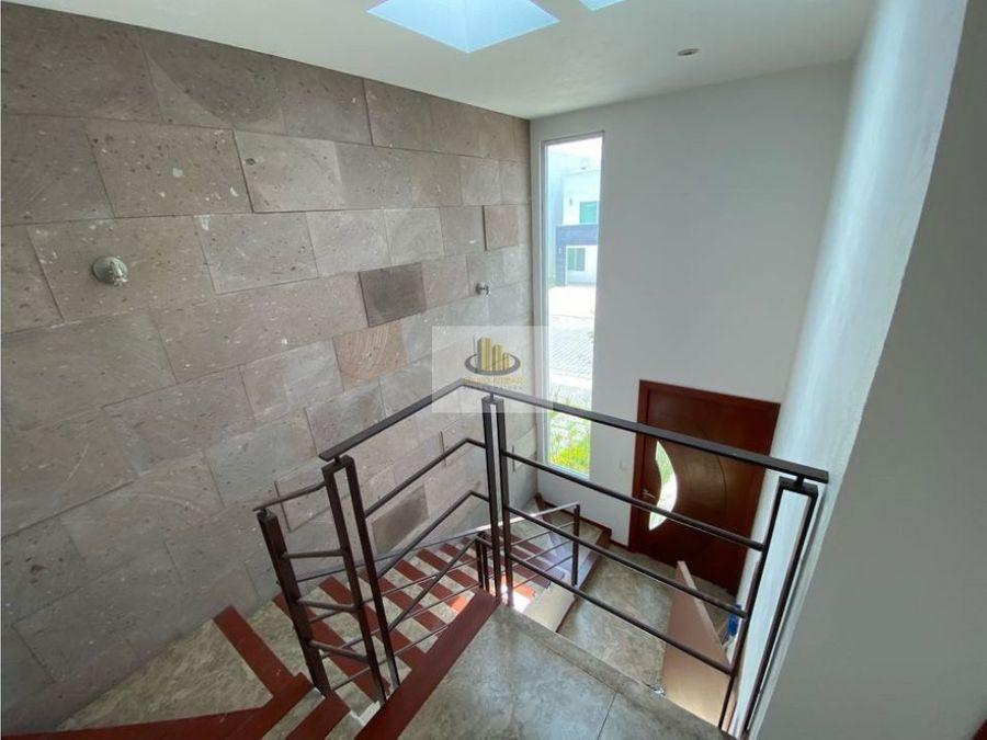 bonita y comoda casa en venta puebla blanca cluster con alberca