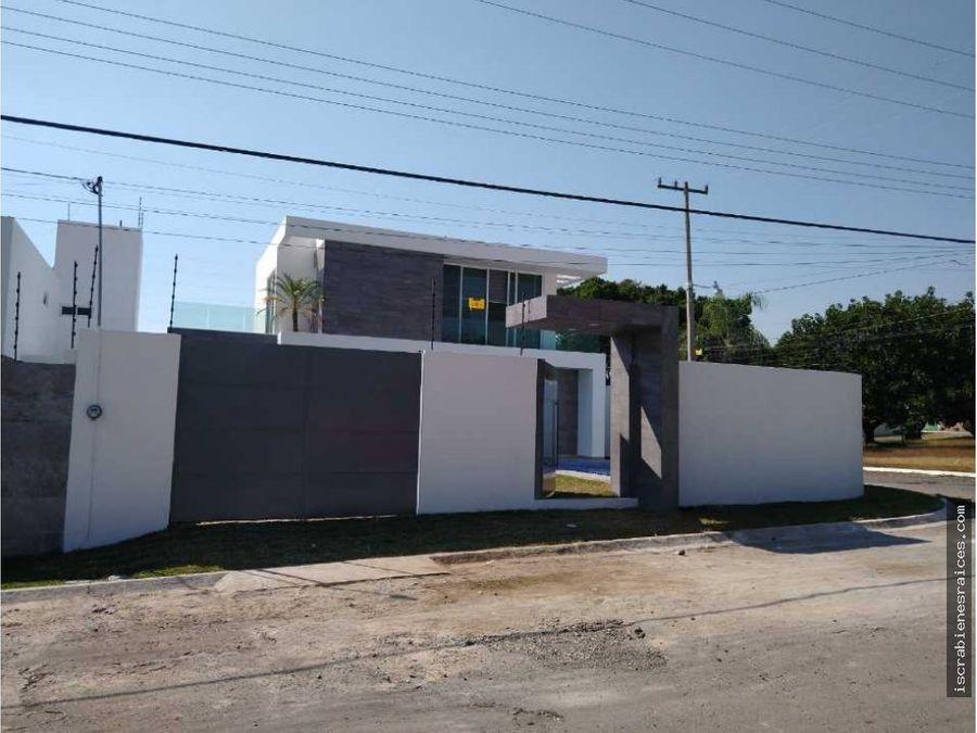 bonita casa en venta en fraccionamiento real de oaxtepec