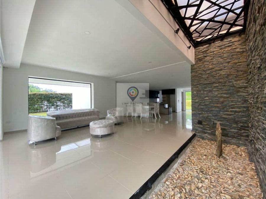 casa campestre en venta sector condina