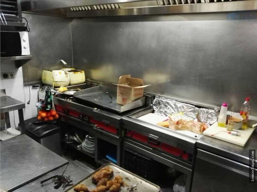 traspaso restaurante c3 mixto con 2olicencia de panaderia degustacion