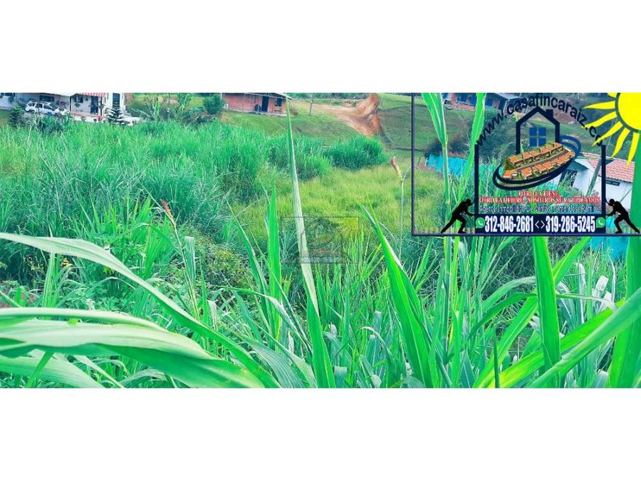 cabana campestre con exelente lote en marinilla vereda cascajo abajo