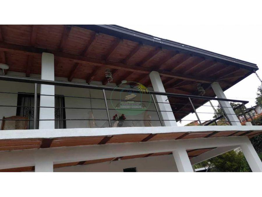cabana campestre en rionegro vereda santa barbara con excelente acceso