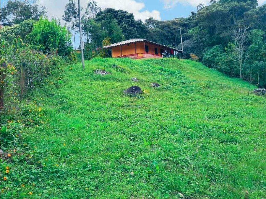cabana en santuario con carretera pavimentada y exelente aguas propias
