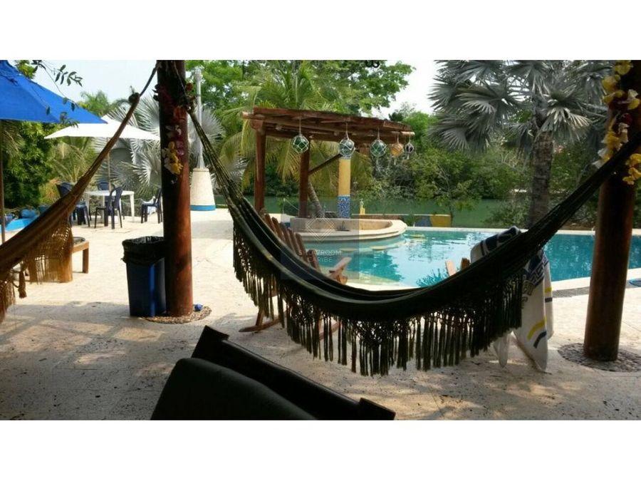 cabana en venta baru cartagena