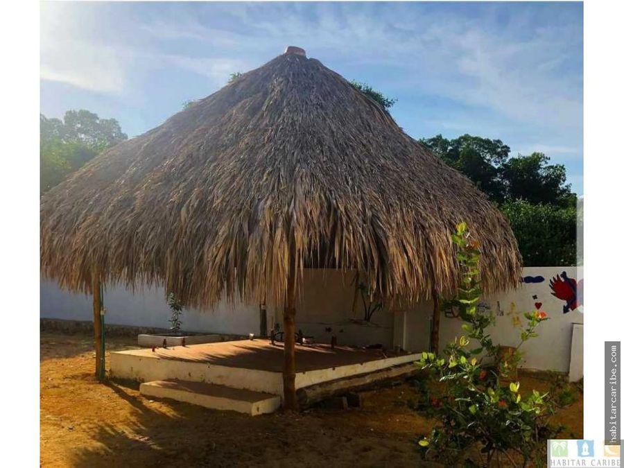 cabanas en venta sector el frances tolu sucre