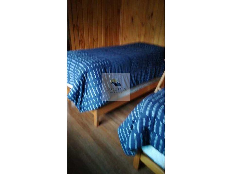 cabana para una persona semi amoblada pucon central