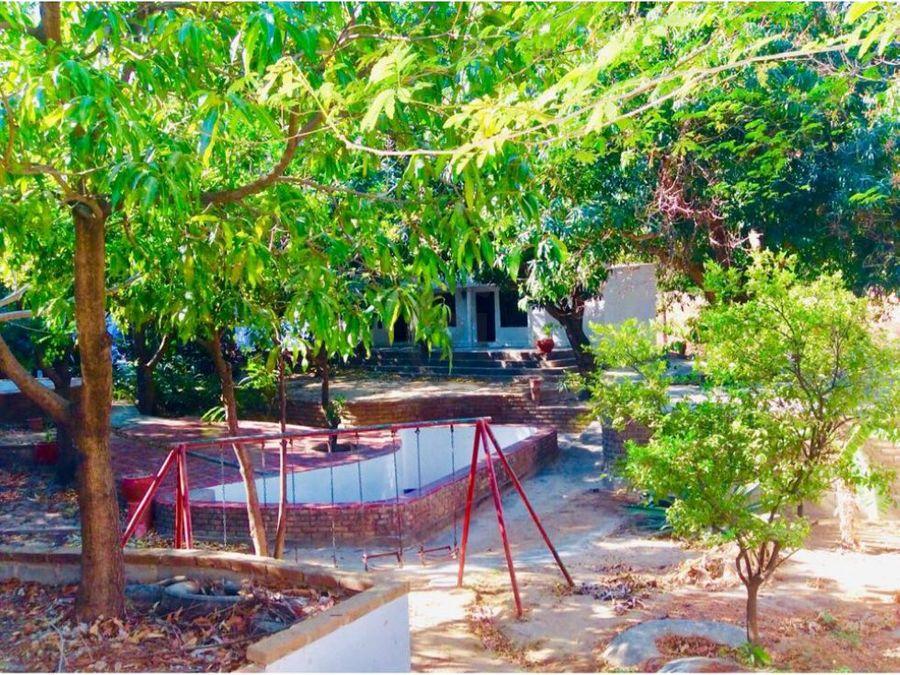 se vende cabana 4065 mt2 para hostal o vivienda en bonda