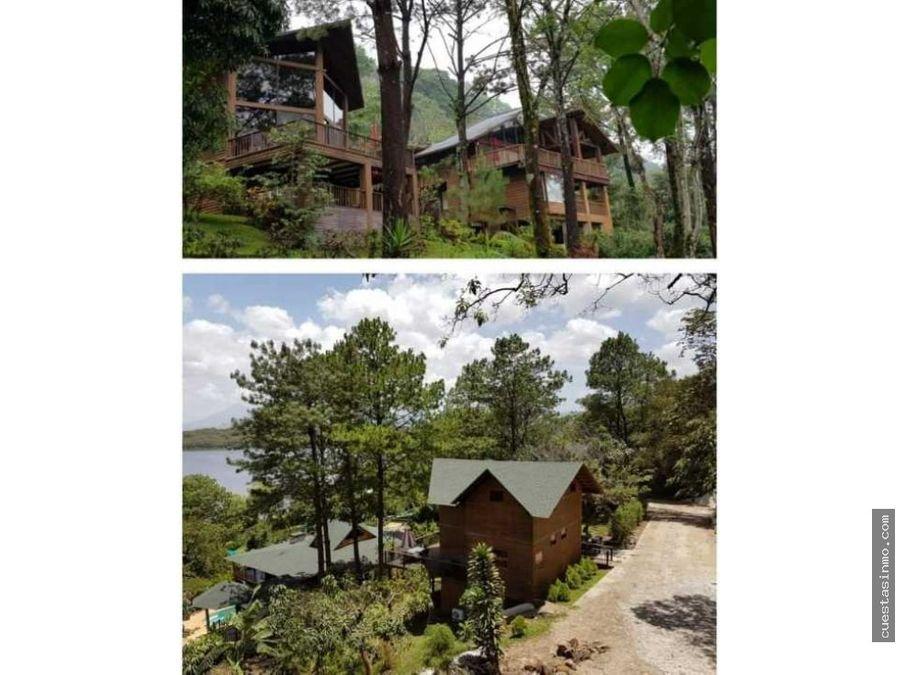 cabanas en venta laguna del pino 1