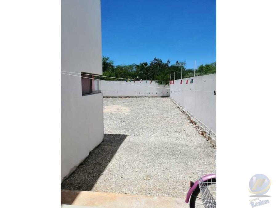 casa con gran terreno en conkal