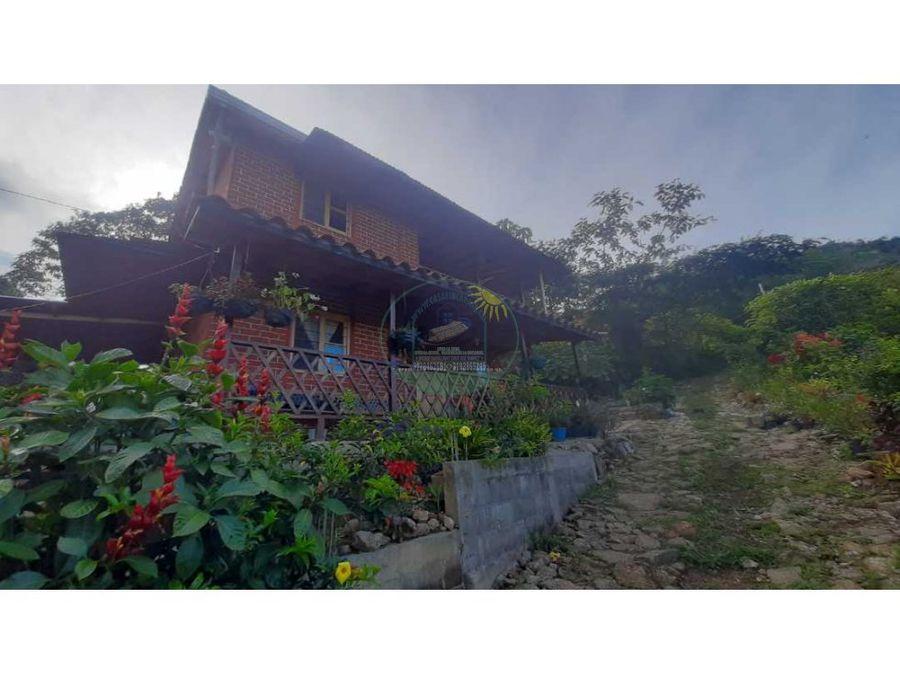casa campestre cerca al casco urbano de cocorna vereda san juan
