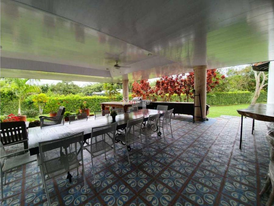 casa campestre 9 alcobas lote 4000 m2 1000 m2 club campestre