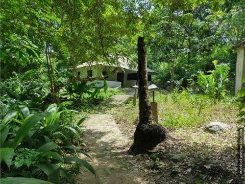 casa campestre con 13 hectareas en minca zona ecologica con rio cerca