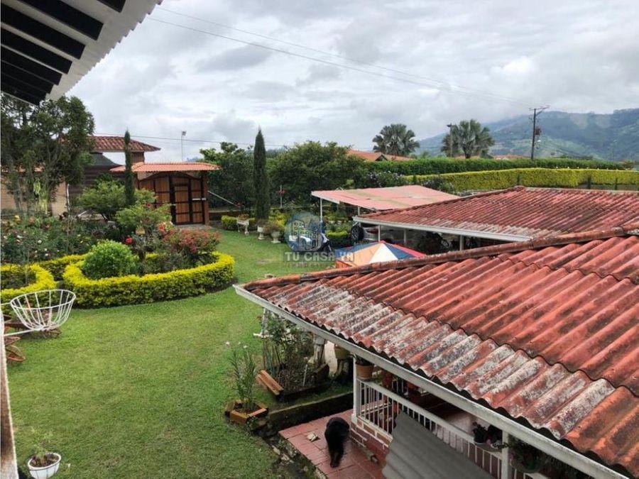 casa campestre con hermosa vista