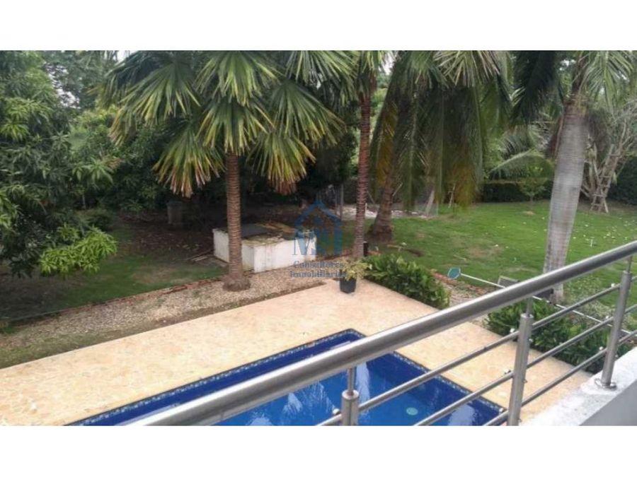casa campestre con piscina en el norte de monteria