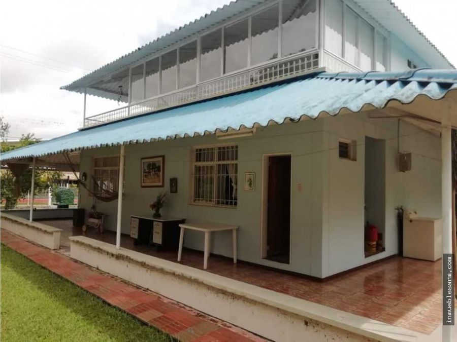 casa campestre conjunto valle del sol