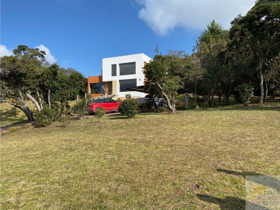 casa campestre en chia altos de yerbabuena