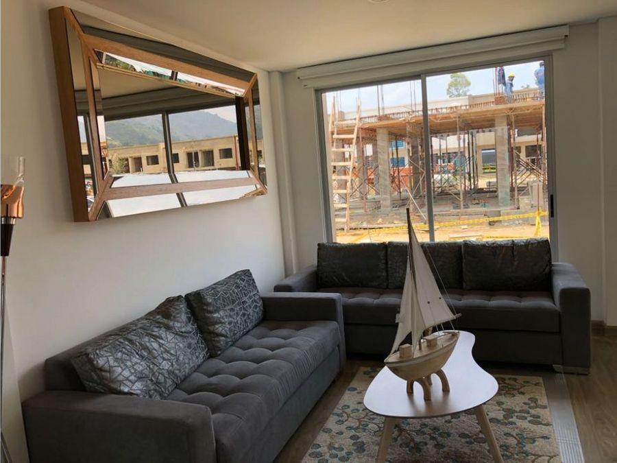 casa campestre en condominio con vista a la montana