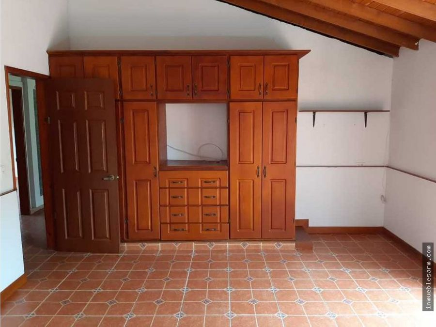 casa campestre en conjunto cerrado