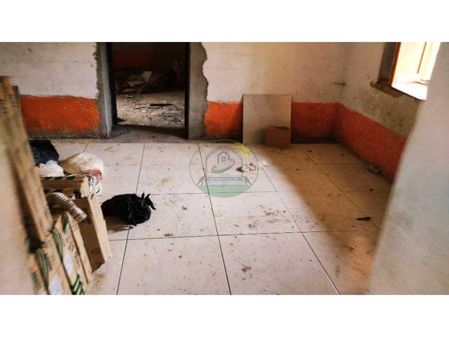 casa campestre en tapia para terminar la reforma en el santuario ant
