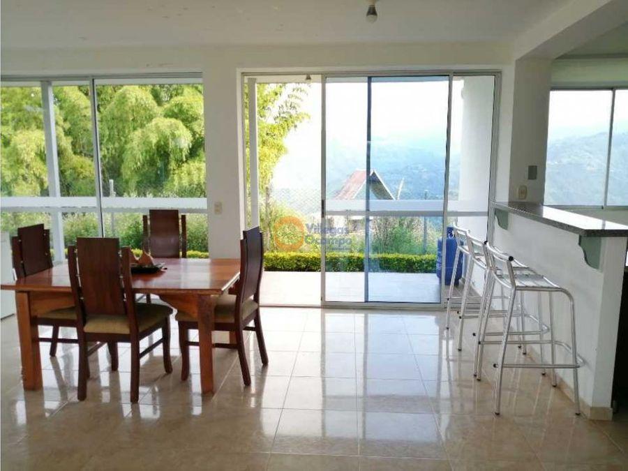 casa campestre en venta en alto del naranjo manizales