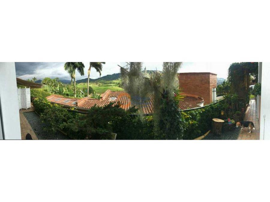 casa campestre en venta en la florida manizales