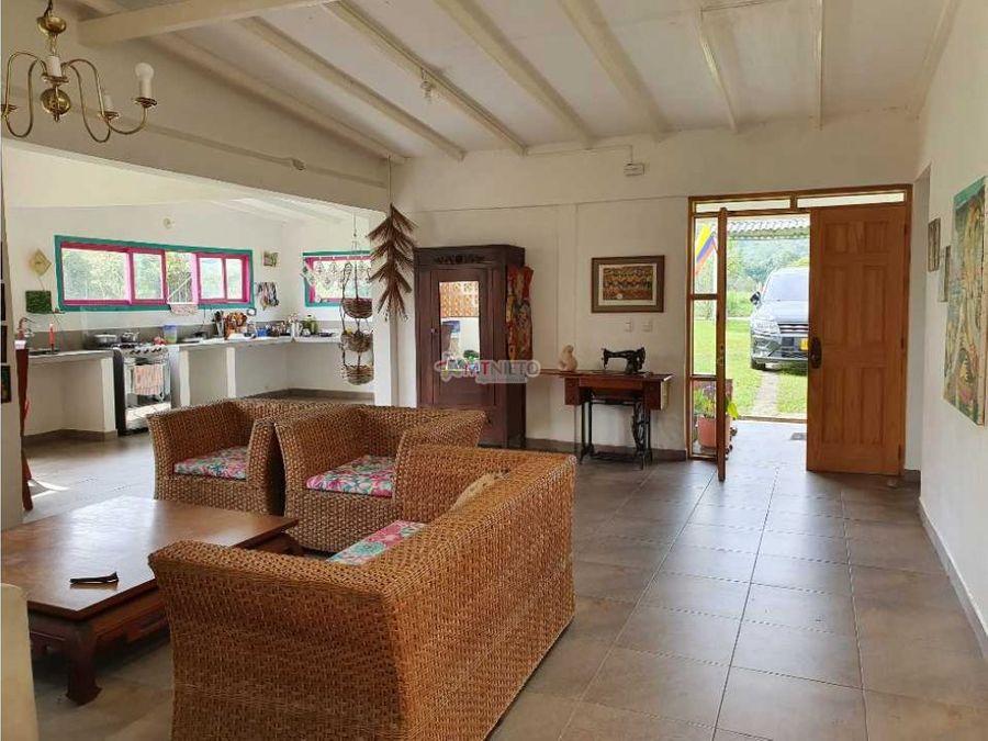 casa campestre area lote 3057 y casa 250 m2 filandia