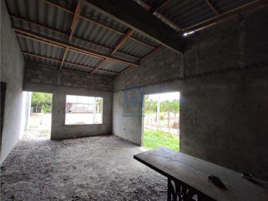 casa campestre para reformar en venta cerca a la upb monteria cordoba