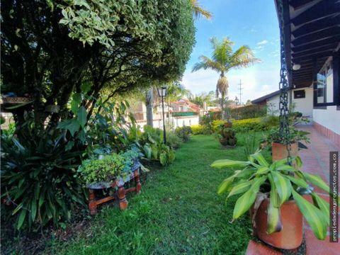 casa campestre para venta en rionegro sector gualanday