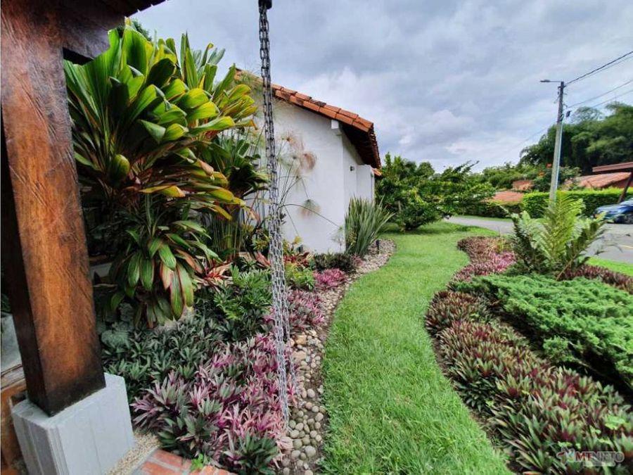 casa campestre 3 alcobas 290 m2 lote 70554 m2 el caimo