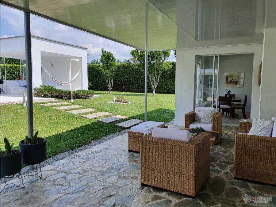 casa campestre 400 m2 lote 2315 m2 de 4 alcobas club campestre