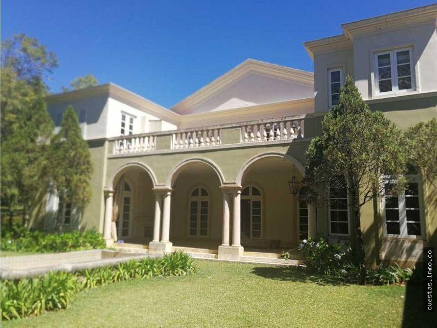espectacular casa en venta casa y campo directo