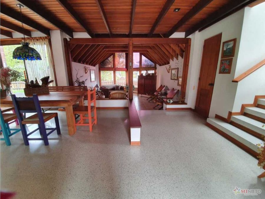 casa campestre 260 m2 de 3 alcobas lote 931 m2 circasia