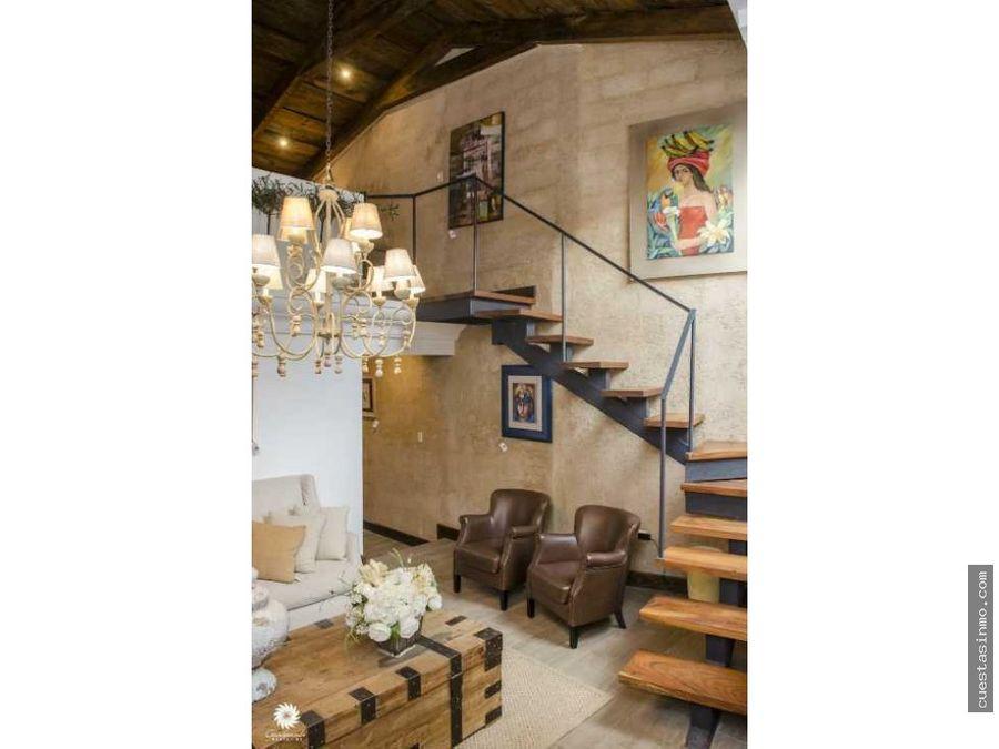 casa amueblada en venta en antigua guatemala d