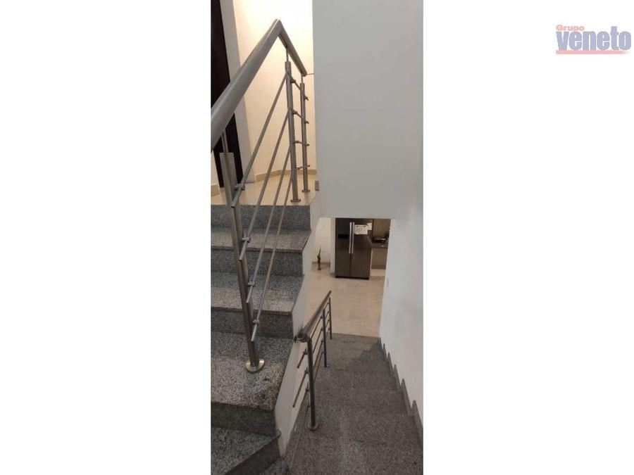 casa amoblada en venta urb trapiche villas cabudare