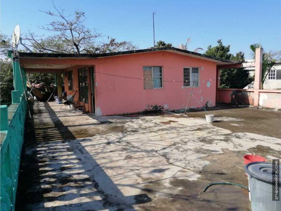 casa amplio terreno 2 niveles pueblo viejo veracruz mexico
